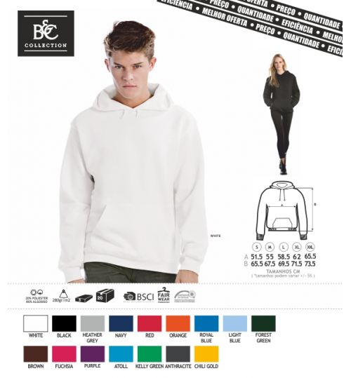 SWEAT-SHIRT COM CAPUZ BC ID003